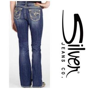 Silver Jeans Suki Surplus Bootcut Jeans 31x33